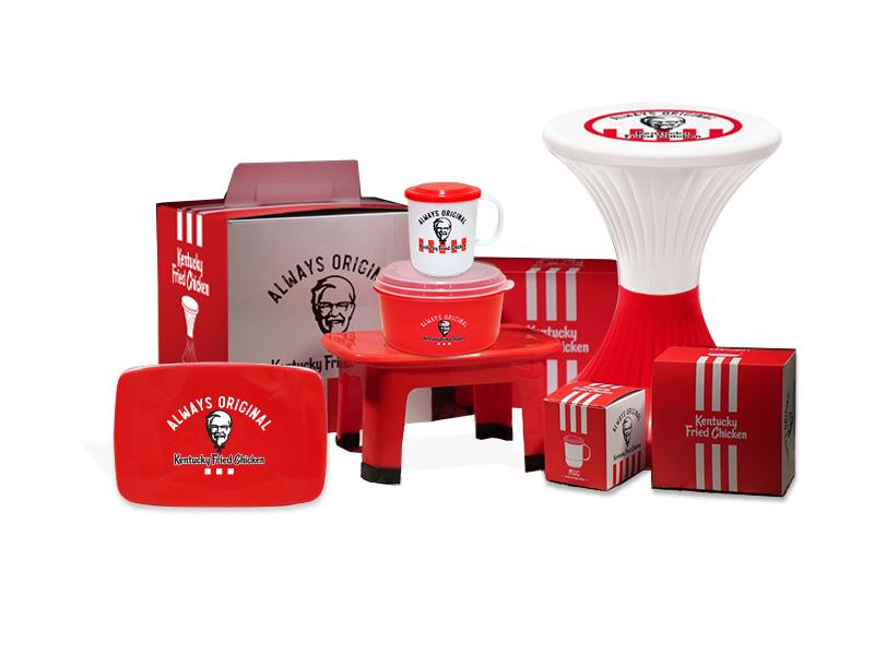 Red A x KFC