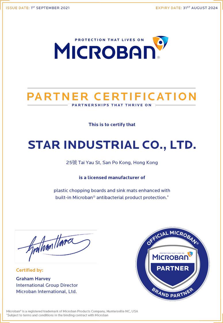 Microban-Partner-Certificate_Star-Industrial_SEP21